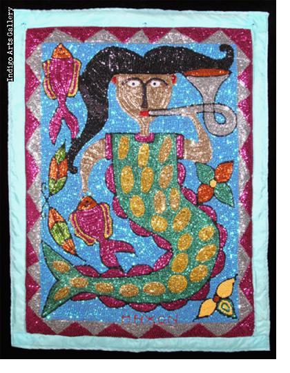 La Sirene Vodou Flag