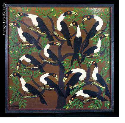 Hornbills in a Tree