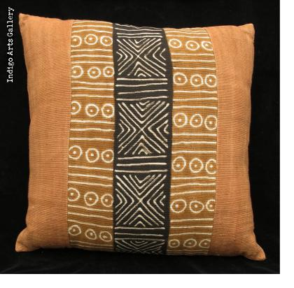 Bogolanfini Mud-cloth Pillow