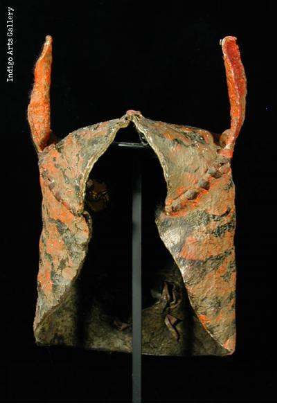 Leather Tigre Mask (#mxm075)