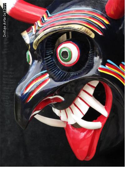 Diablo (Blue Devil) Mask (#mxm113)