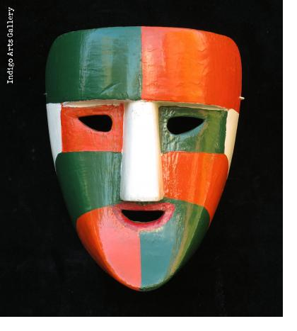El Pocho Dance Mask from Tabasco