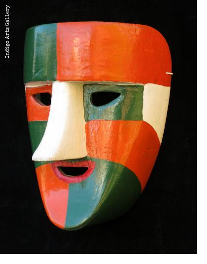 El Pocho Dance Mask from Tabasco