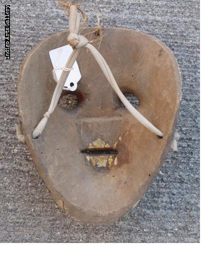 """Huastec """"Chantolo"""" mask from Hidalgo"""