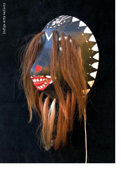 "Yaqui ""Pascola"" Mask from Sonora"