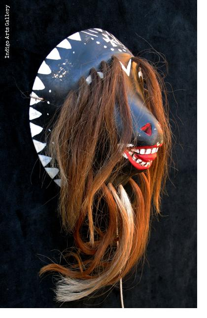 """Yaqui """"Pascola"""" Mask from Sonora"""