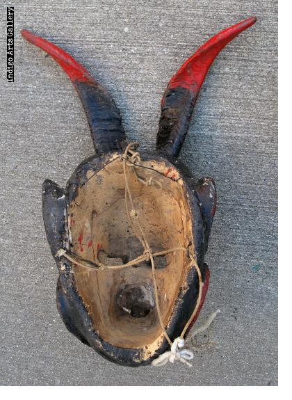 Diablo con Serpientes Mask from Mexico