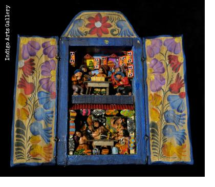 Retablo Shop and Curandero de la Selva - Two Storey Retablo