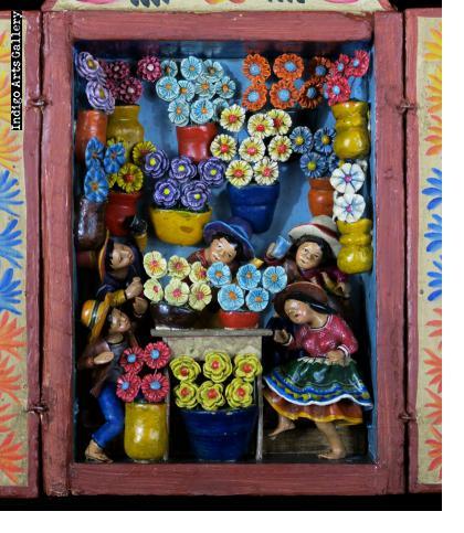 Flower Shop Retablo (Small)