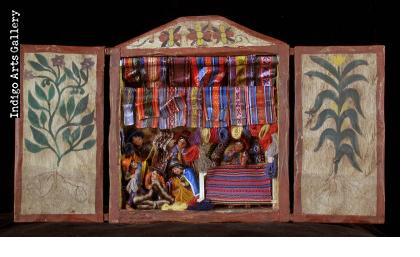 Weaving Shop Retablo (medium)