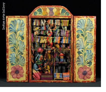 Medium Weaving Shop - Retablo