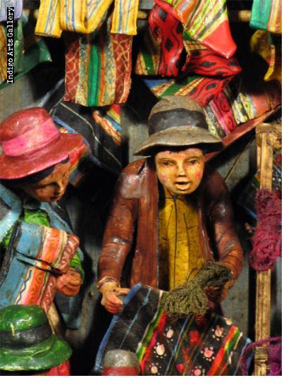 Medium Weaving Shop - Retablo