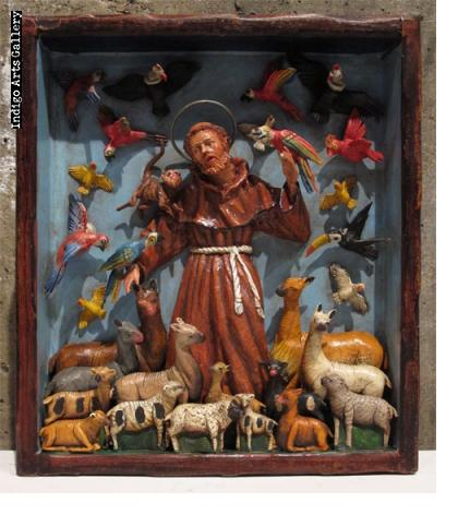 San Francisco - Retablo Frame (without doors)
