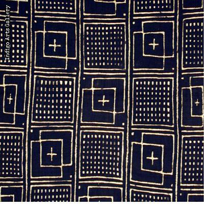 Bogolanfini - Mud Cloth tafé (wrapper)