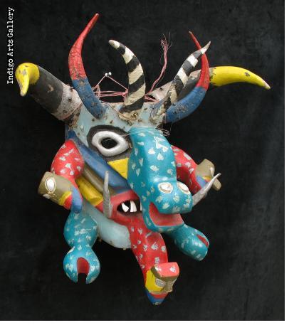 Diablo Mask with Reptiles
