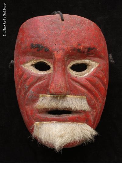 Mixtec Viejo Moor Mask