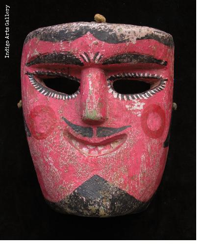 Tecuan Mask - Dance of the Tejorones