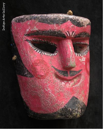 Tecuan Mask - Dance of the Tejorones