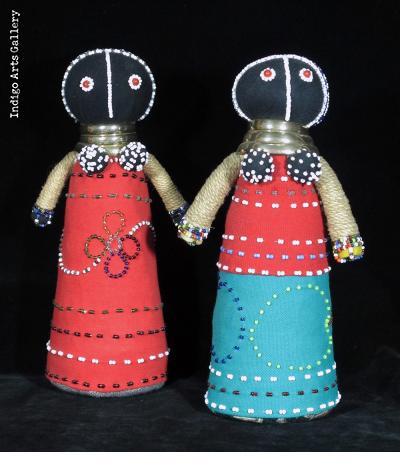 Ndebele Ceremonial Doll - medium