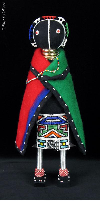 Ndebele Initiation Doll