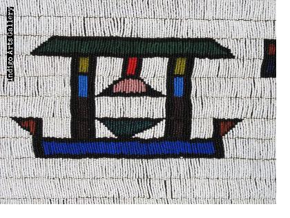 Five-panelled Ndebele Jocolo beaded apron