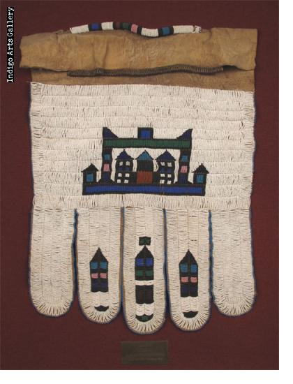 Five-panelled Ndebele Jocolo beaded apron