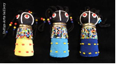 Ndebele Rasta Child Doll