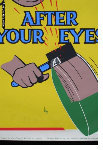 LOOK AFTER YOUR EYES - Workplace Safety Poster #10