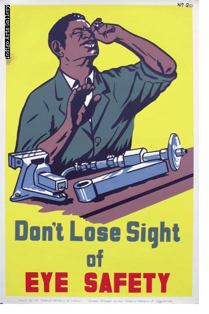 Don't Lose Sight of EYE SAFETY - Workplace Safety Poster #20