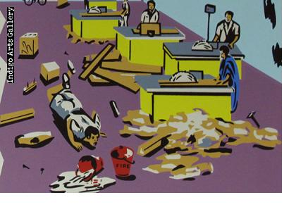 GOOD HOUSEKEEPING PAYS - Workplace Safety Poster #25