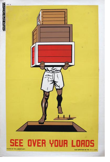 SEE OVER YOUR LOADS - Workplace Safety Poster #9
