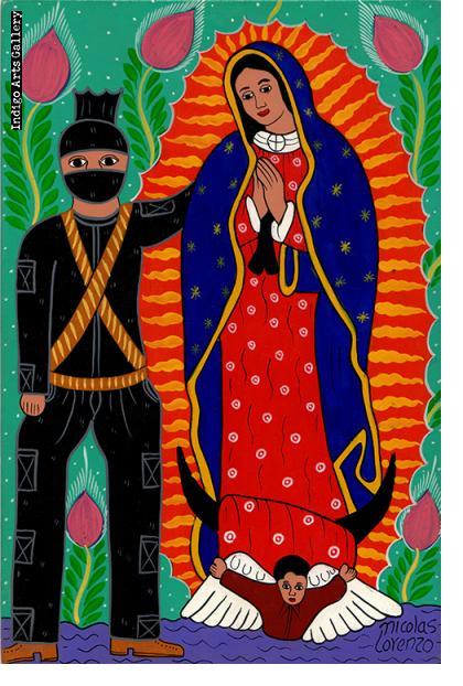 Nicolas Lorenzo Zapatista
