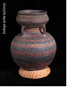 Nupe Water Vessel with Handles