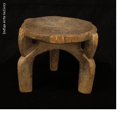 Old Three-legged Nyamwezi Stool