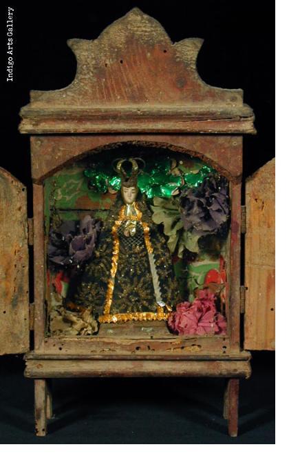 Virgen de Soledad Nicho
