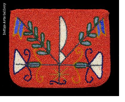 """Ogou Feraille"" Vévé Beaded Purse"