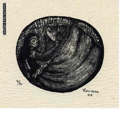 Fernando Olivera - Untitled (Mujer y Pez)