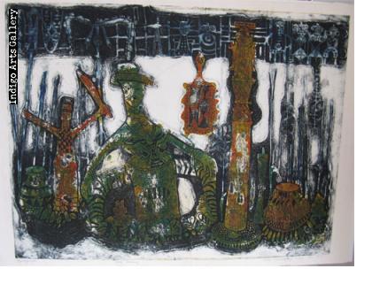 Bruce Onobrakpeya (1932 -), Nigeria