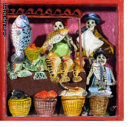 Fishmonger of the Dead - Retablo