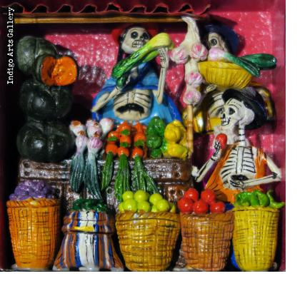 Verdulería de los Muertos (Fruit Stand of the Dead)