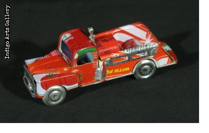 Madagascar Fire Engine Ornament