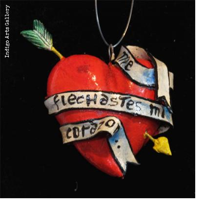 Retablo Heart Ornament