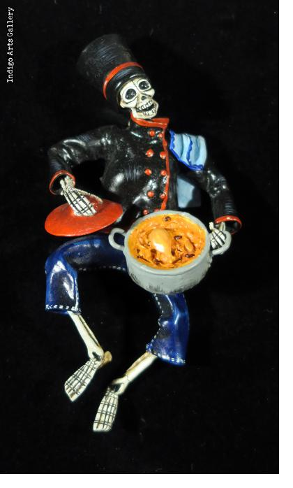 Chef of the Dead - retablo figure