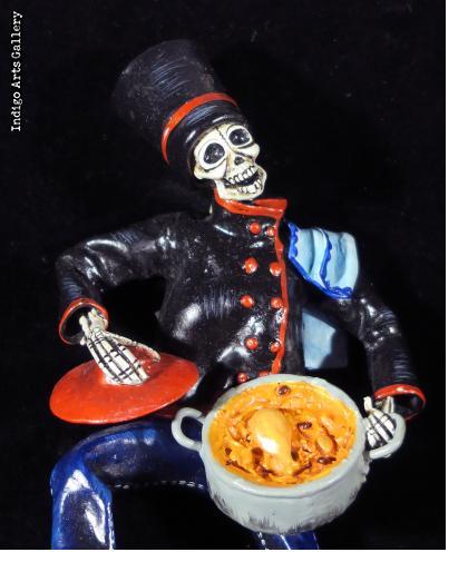 Chef of the Dead - retablo figure