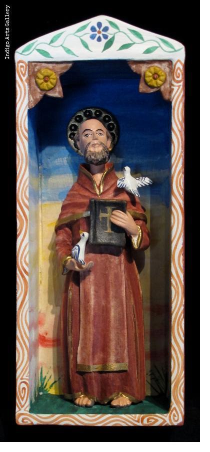 St. Francis - Retablo