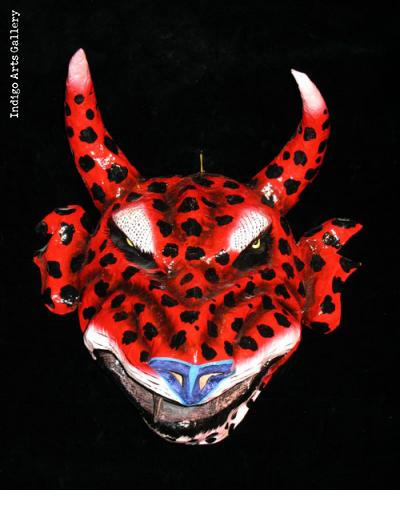 Spotted Diable Carnival Mask
