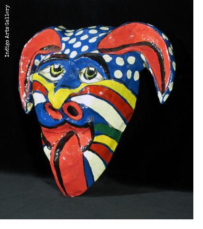 Multicolor Diable Mask