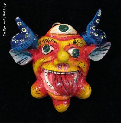 Retablo Mask Ornament