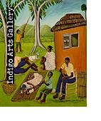 N-10 Untitled (Haitian Family) Pierre-Joseph Valcin (Haiti 1926-2000) 1986, Oil