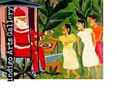 N-14 Santa Claus Theard Aladin (Haiti c.1944 -1993) 1991, Oil